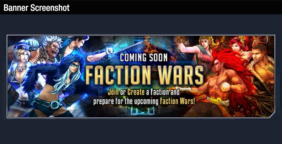 Faction War Banner