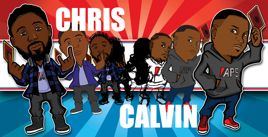 Chris and Calvin's Caricature