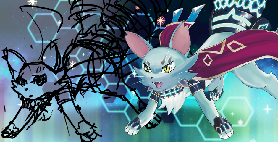 Majespecter Cat Sketch